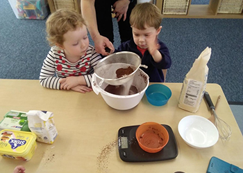 baking in nursery taunton