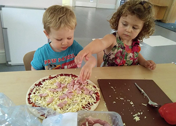 Pizza making in taunton